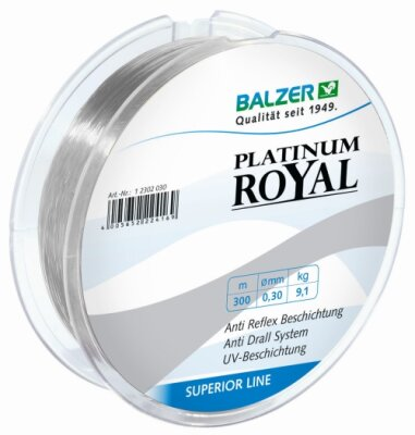 Balzer Platinum Royal - 300 m