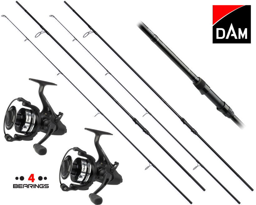 DAM Profi Karpfenset MAD XT1 360 + Quick FS